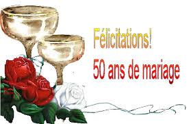texte anniversaire 50 ans de mariage anniversaire de mariage
