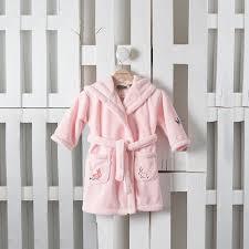 robe de chambre bébé robe de chambre enfant louise carre blanc