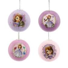 disney princess sofia the ornaments 4 ct