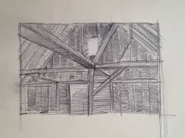barn window drawing adam u0027s art work