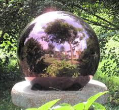 Garden Gazing Globes Garden Orb Photo Jarrett Interaction Design