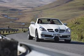 mercedes benz slk roadster review 2004 2011 parkers