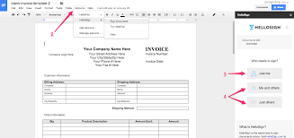 hellosign for google docs add on u2013 help center