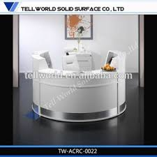Salon Reception Desk White Modern Salon Reception Desk White Modern Reception Desks Design