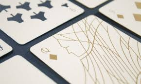 Minimal Design Minimal Playing Card Redesign Design And Paper