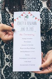 Mason Jar Wedding Programs To Smash Or Not To Smash A Wedding Cake Dilemma