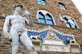 outdoor sculpture in florence italy