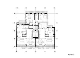Floor Plans For Commercial Buildings by Residential Building In Vase Stajića Street Kuzmanov And