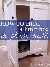 ecoflex jumbo litter loo hidden kitty litter box end table hidden kitty litter great a hidden litter tray in a best unit with