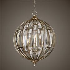 Uttermost Bathroom Lighting Uttermost Vicentina 6 Light Sphere Pendant Dining Room Gomes