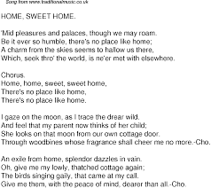 sweet home theater old time song lyrics for 59 home sweet home