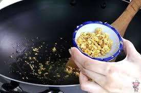 japanese garlic fried rice bear food
