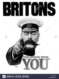 english world war i propaganda poster featuring lord kitchener