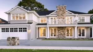 Georgian Style Home Plans Hamptons Style Houses Melbourne House And Home Design
