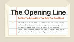 how to write the perfect email subject line infographic