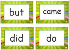 funky sight word strategy template dolch primer words flashcards