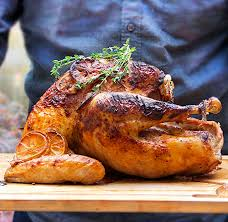 spicy yogurt marinated turkey a tender bird with spiced up