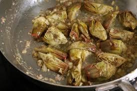 cuisine provencale recette artichauts poivrade recette d artichauts poivrade sautés