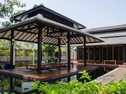 lovely japanese style garden villa bo sang san kamphaeng best