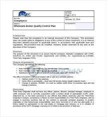 Quality Assurance Excel Template 10 Quality Plan Templates Free Sle Exle Format