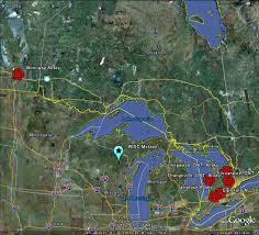 Google Map Wisconsin by The Latest Worldwide Meteor Meteorite News Wisconsin Meteor