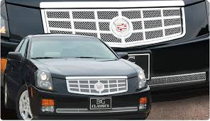 2010 cadillac cts grill 03 07 cadillac cts custom billet grille mesh grills billet grilles