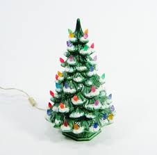 list of ceramic tree with lights cracker barrel