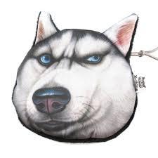 Siberian Husky Meme - siberian husky dog animal meme coin purse make up bag dotoly