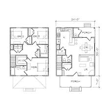 architectures four square house plans modern four bedroom house