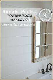 Glam Powder Room Powder Room Makeover Find This Pin And More On Powder Room