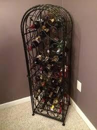 antique bronze 8 bottle wine jail home goods pinterest wine