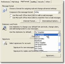 stationery how to import stationery templates to outlook