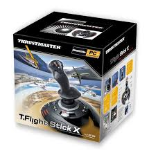 amazon com thrustmaster t flight stick x flight stick pc video
