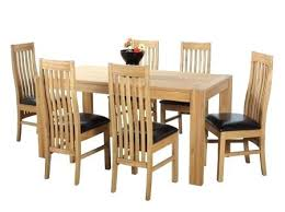 6 seater oak dining table solid oak dining table and 6 chairs solomailers info