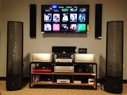 Home Theatre Design Los Angeles Parasound Jc1 And Jc2 Set Up With Martin Logan Montis At Monaco