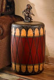 Drum Accent Table Coffee And Side Tables Wild Wings