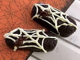 fun halloween treats for kids spider web twinkies