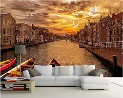 online get cheap venice 3d mural wallpaper aliexpress com