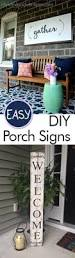 easy diy porch signs my list of lists