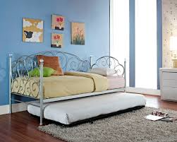 Wrought Iron Daybed Baby U0026 Kids Striking Wrought Iron Daybed With Trundle Bed Ikea