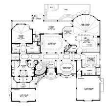 mediterranean style house plan 5 beds 5 50 baths 6045 sq ft plan