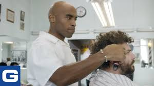 tiki u0027s barber shop geico youtube