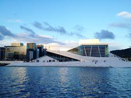Opera House by The Iconic Oslo Opera House Norway Fjord Travel Norway