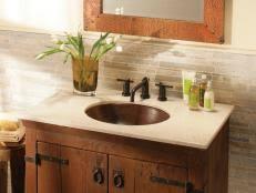 Country Style Bathroom Vanity Traditional Bathroom Vanities Hgtv
