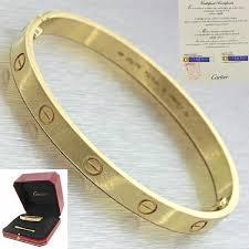 love bangle bracelet images Cartier 18k yellow gold new style love bangle bracelet 17 box jpg