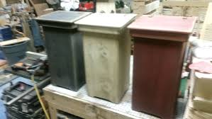 kitchen trash can ideas rustic trash cans trash cans rustic trash cans rustic wooden