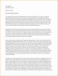 cover letter example 2014 scholarship cover letter example gallery cover letter ideas