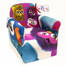 kids cartoon tv character children chair armchair playroom bedroom