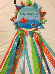 under the sea mom to be button nauticalbabyshower nautical fish