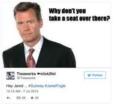 Jared Meme - jared fogle child porn investigation know your meme